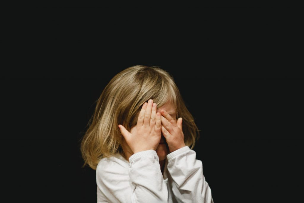Child with stress - Children with Autism